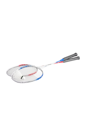 Set of 2 badminton rackets
