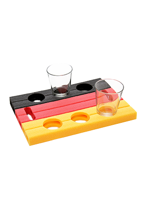 Foam drinks holder